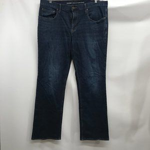 Old navy Bootcut Jeans sz 38 x 34 Women's Stretch